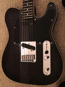 Richie kotzen tele neck profile